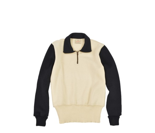 Motorcycle Sweater (Off White)