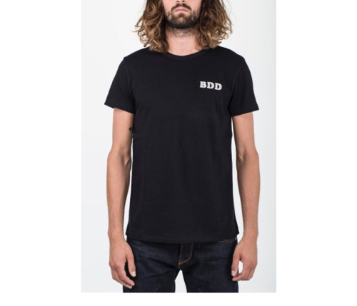 BDD Embroidery Tee (Black)