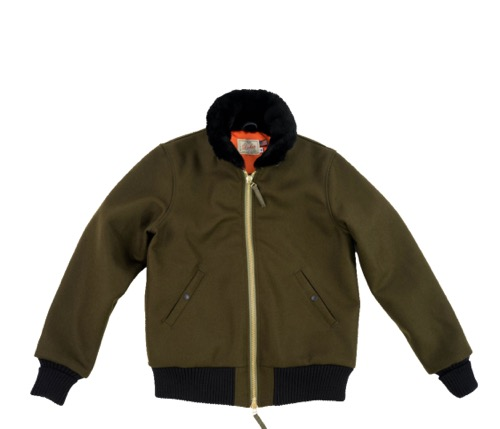 Flyer's Club Jacket (Loden/Black)