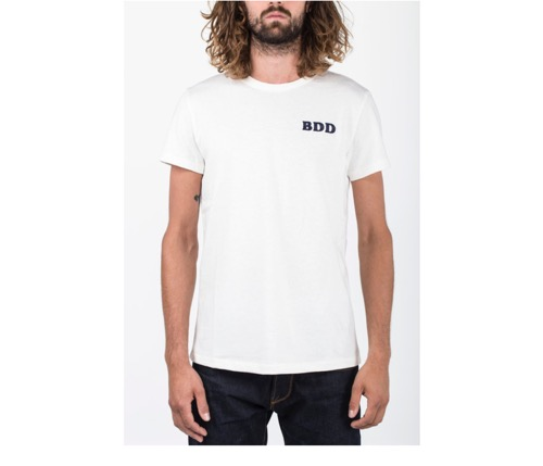 BDD Embroidery Tee (Off White)