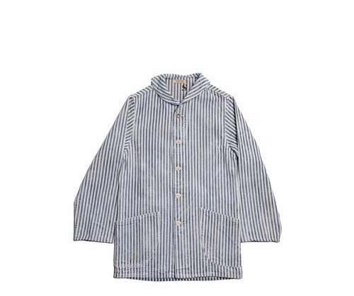 Fortune Goods - Prison Stripe Shawl Jacket
