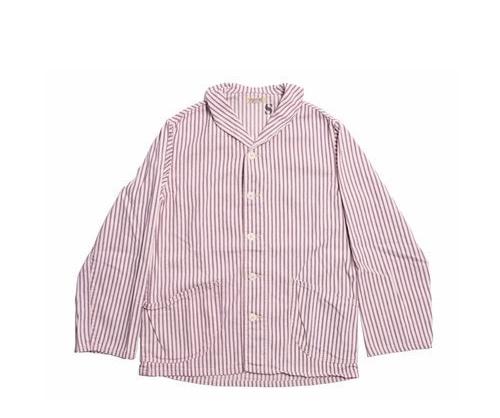 Fortune Goods - Plum Stripe Shawl Jacket