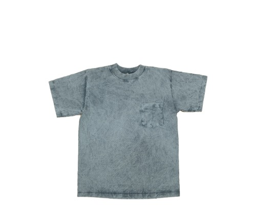 Pocket T-Shirt (Classic Fit) - Grey Cobblestone