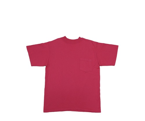 Pocket T-Shirt (Classic Fit) - Red