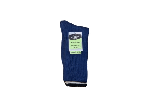 Maggie's Organics - Cotton Crew Socks - 3pak(Navy/Natural/Black)
