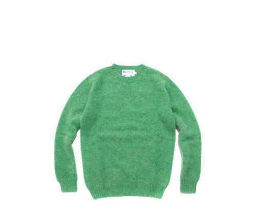 Shaggy Dog Crew Neck Sweater / Mint La