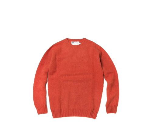 Shaggy Dog Crew Neck Sweater / Spice