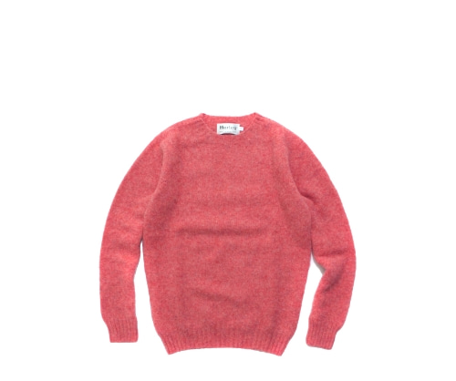 Shaggy Dog Crew Neck Sweater / Rosebud