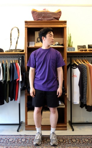 Pocket T-Shirts - Purple
