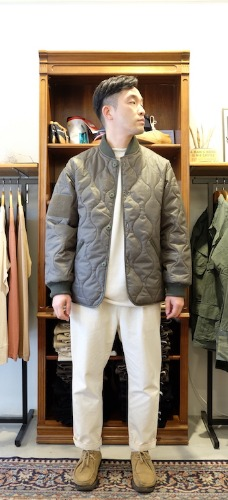 Quilted Woobie Jacket